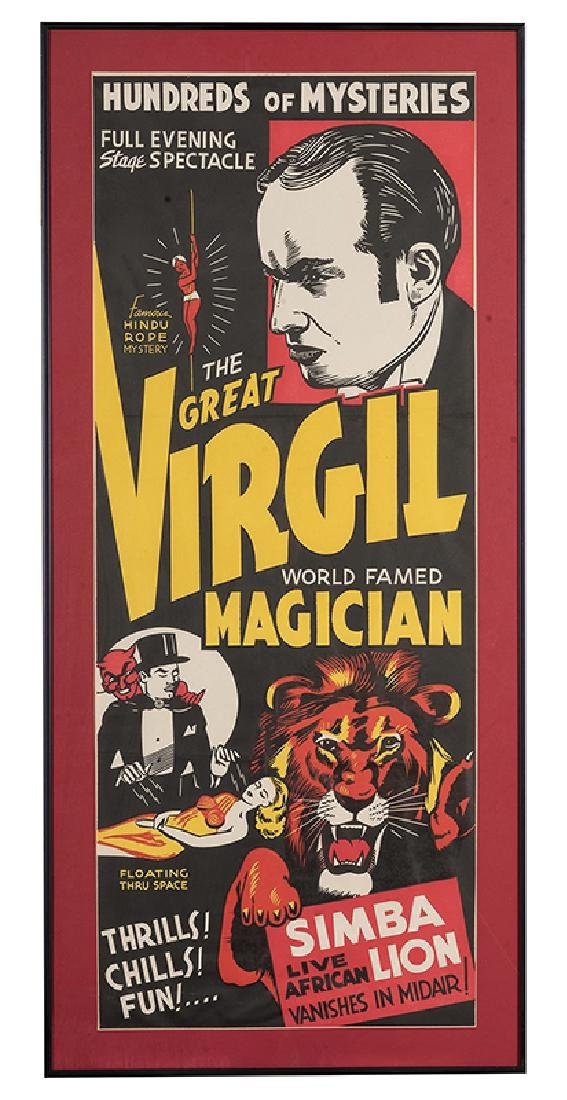 The Great Virgil. Pair of Posters.