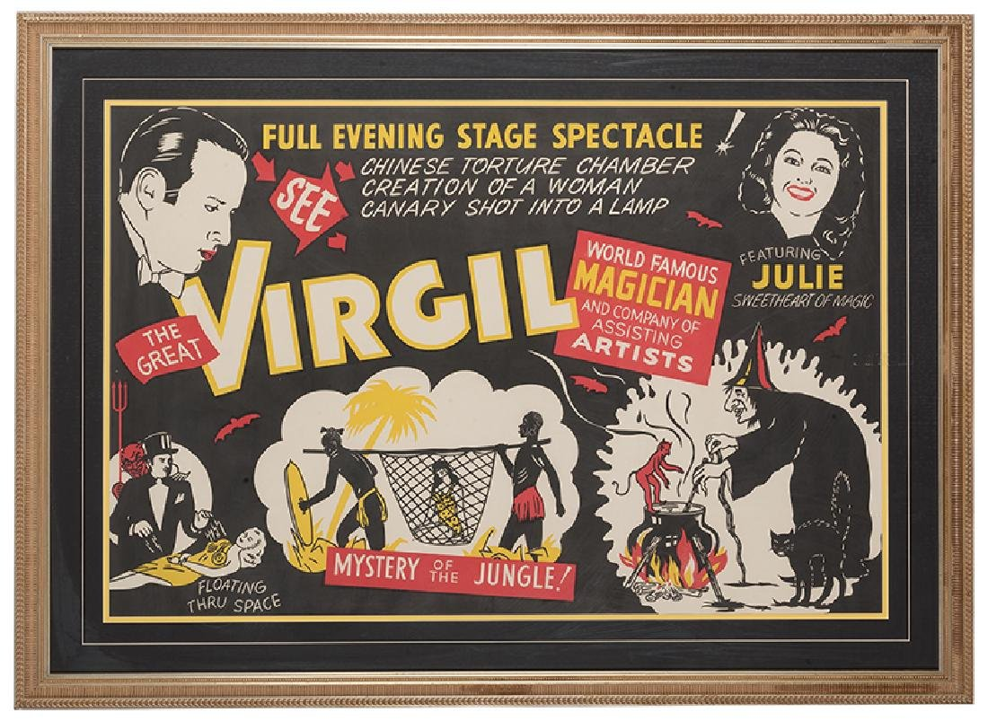See The Great Virgil! Mystery of the Jungle!