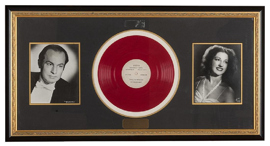Virgil The Magician. Spot Announcements Framed Record