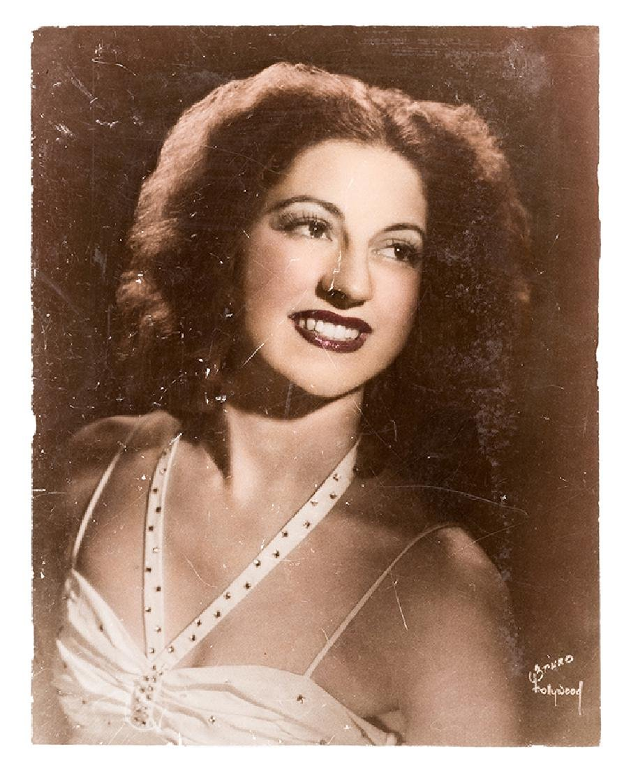 Large Glamour Lobby Photograph of Julie Mulkey.