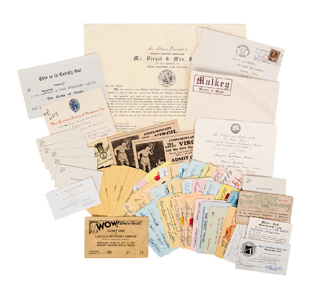 Collection of The Great Virgil's Magic Society and