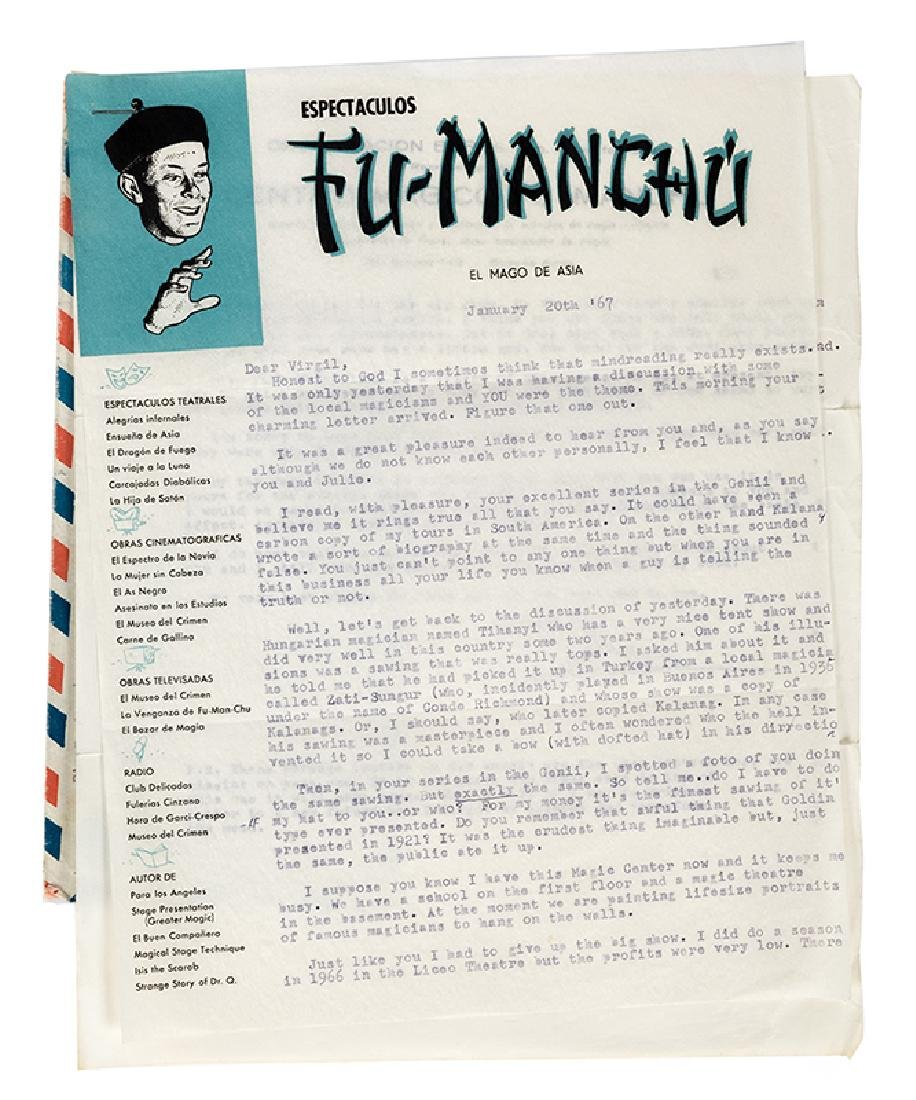 Fu-Manchu TLS to Virgil.