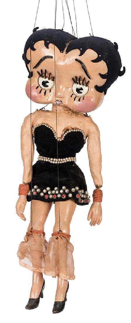 The Great Virgil's Betty Boop Marionette.