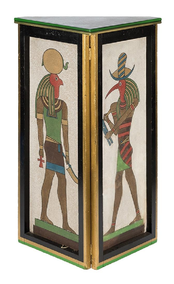 Two Egyptian Side Tables.