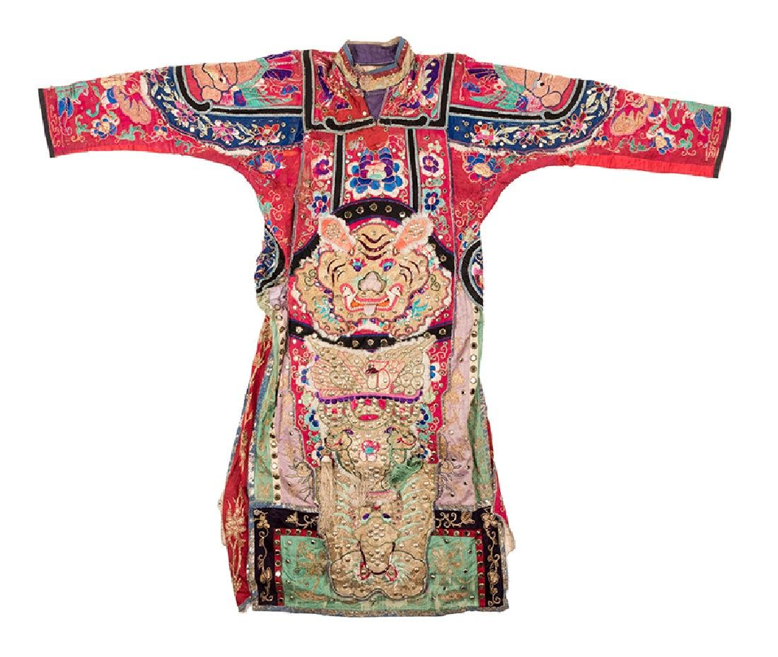 Virgil's Chinese Lion Costume Robe.