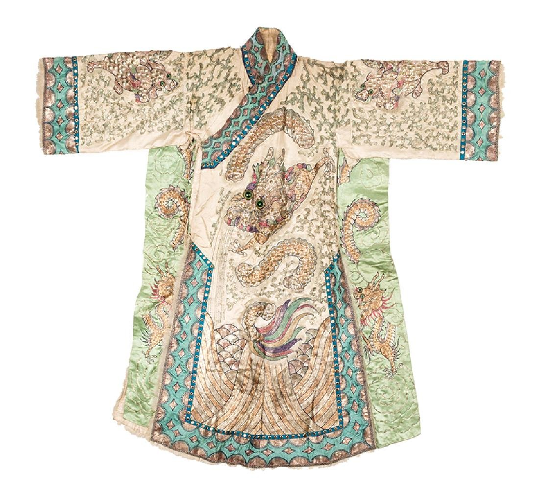 Virgil and Julie's Stage Worn Chinese Costume Robes.