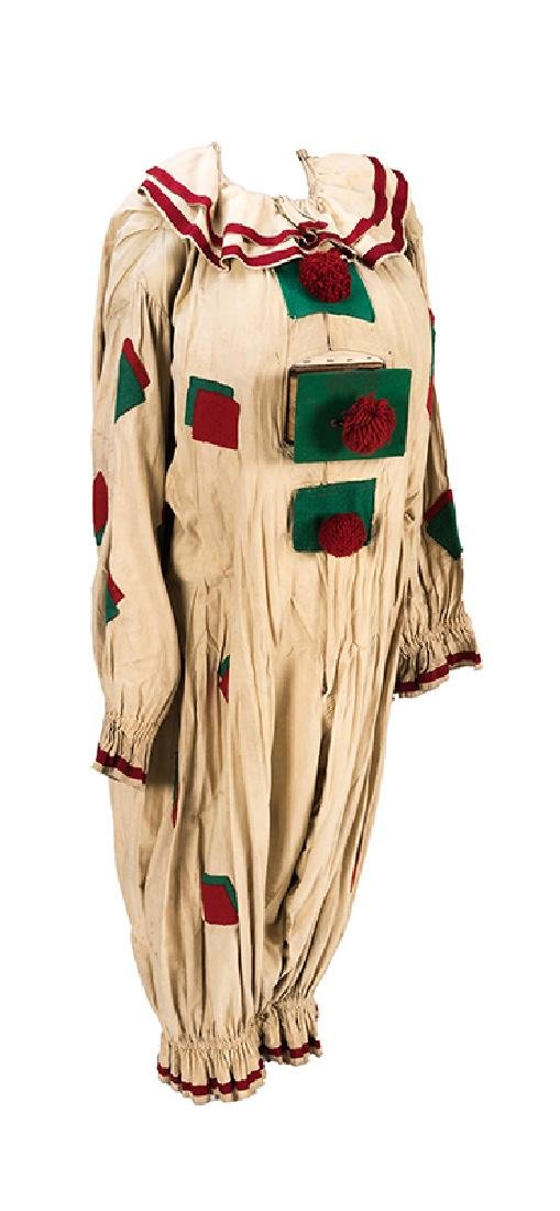 Stage Worn Clown Costume with Belly Drawer from