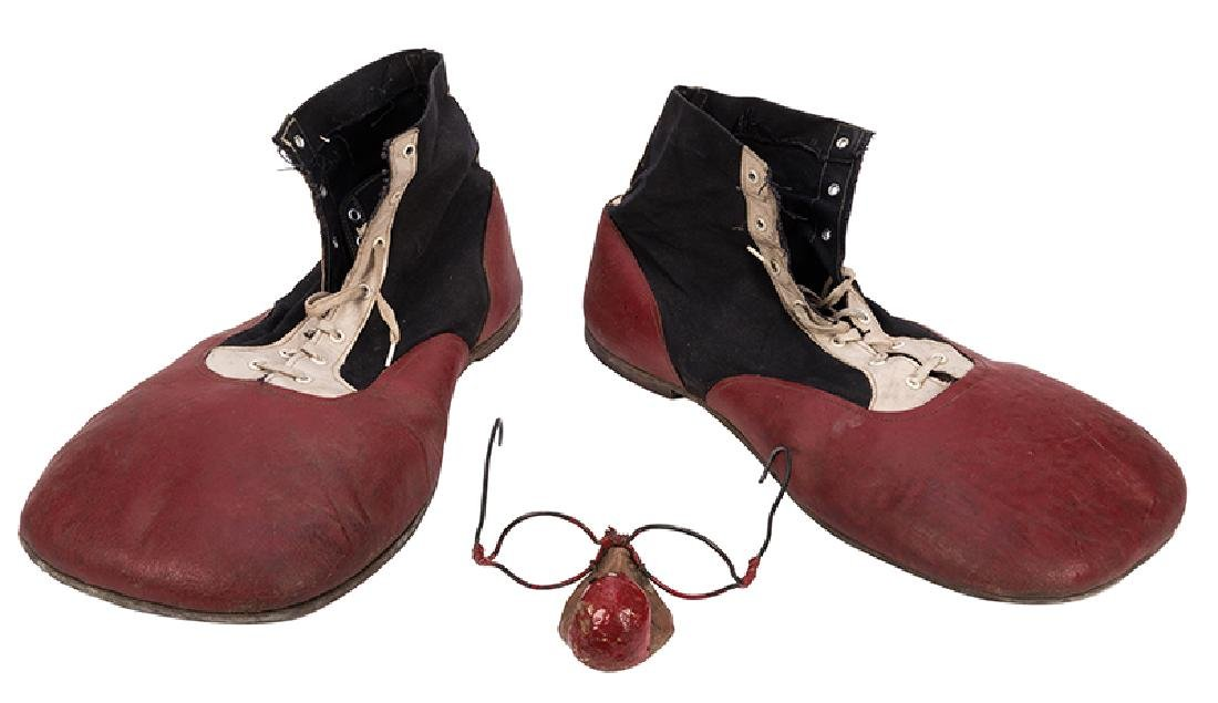 Vintage Pair of Professional Clown Shoes.