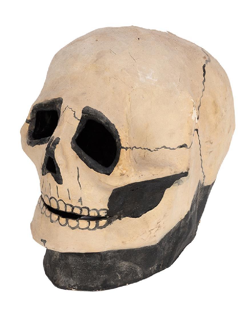 Vintage Spook Show Skull Mask.