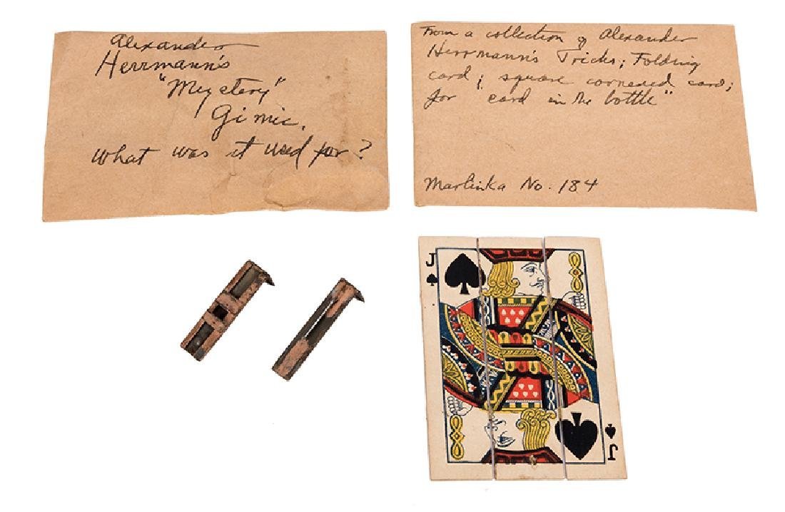 """Folding Jack of Spades and """"Mystery"""" Gimmick Possibly"""