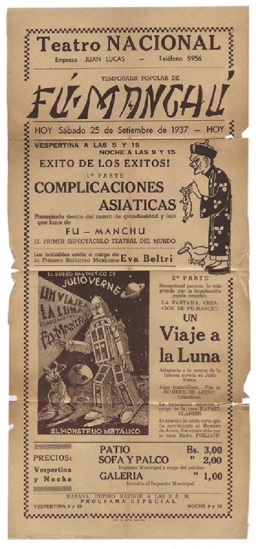 Fu Manchu Spanish Conjuring Herald.