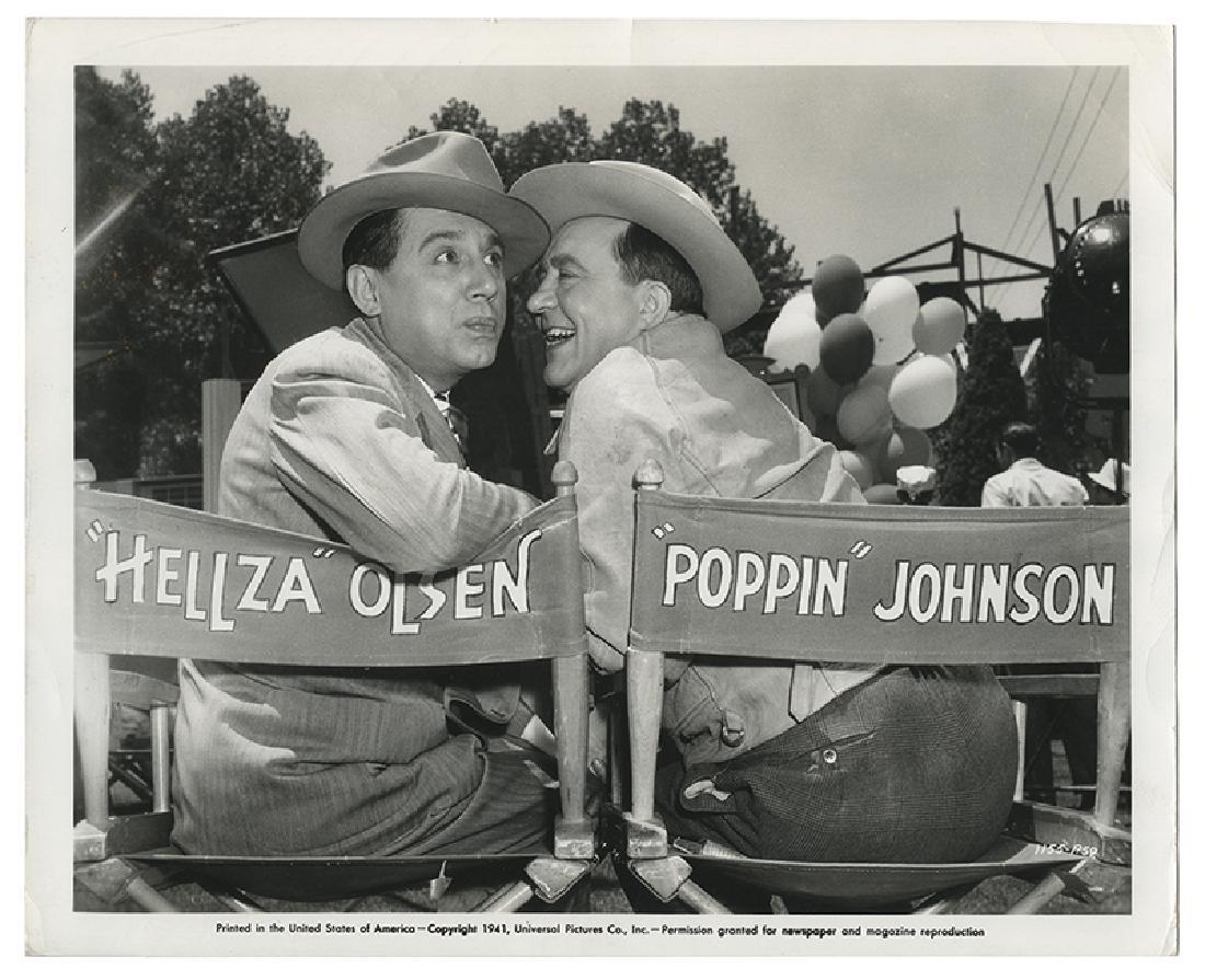 File of Hardeen Jr. and Hellz-a-Poppin' Ephemera.