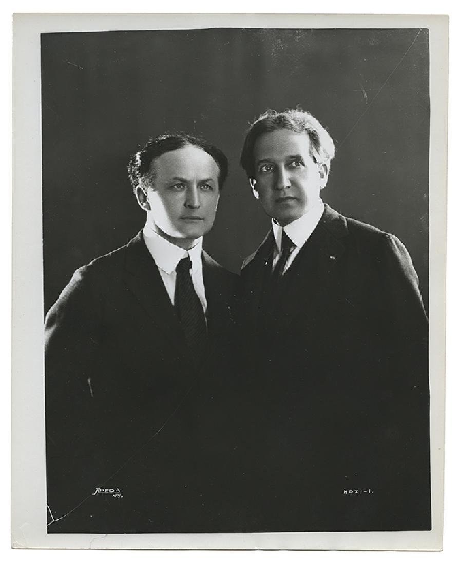 Collection of 11 Photographs of Houdini.