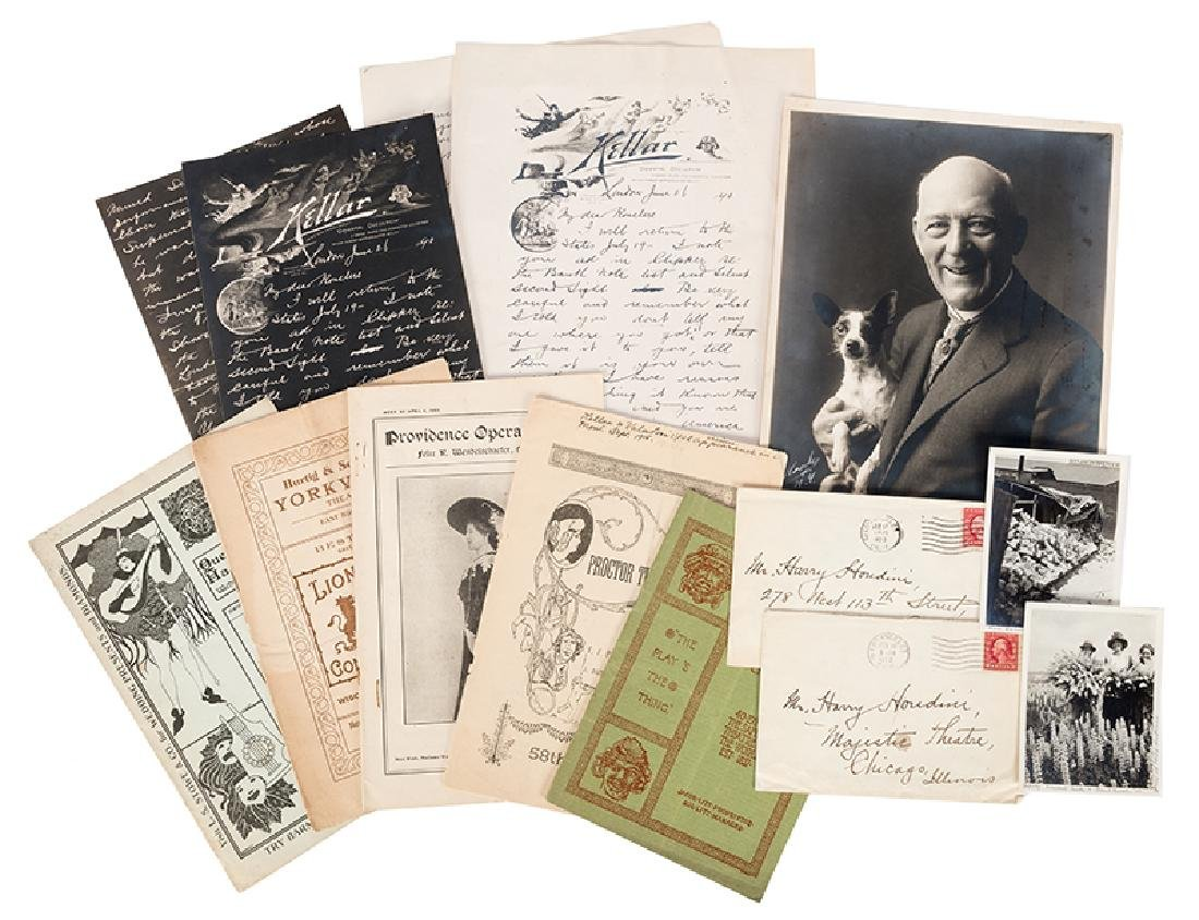 Group of Photographs and Ephemera Related to Harry