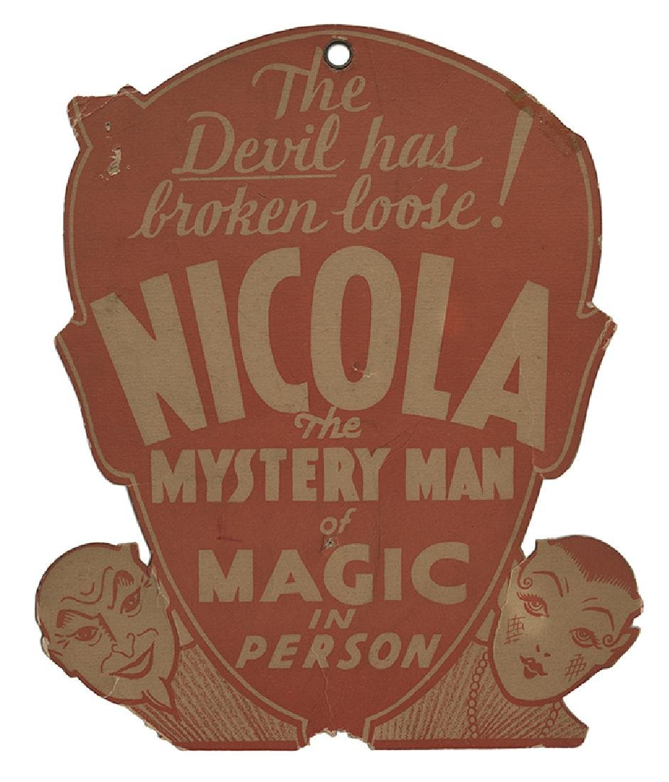 Nicola. The Devil Has Broken Loose! The Mystery Man of
