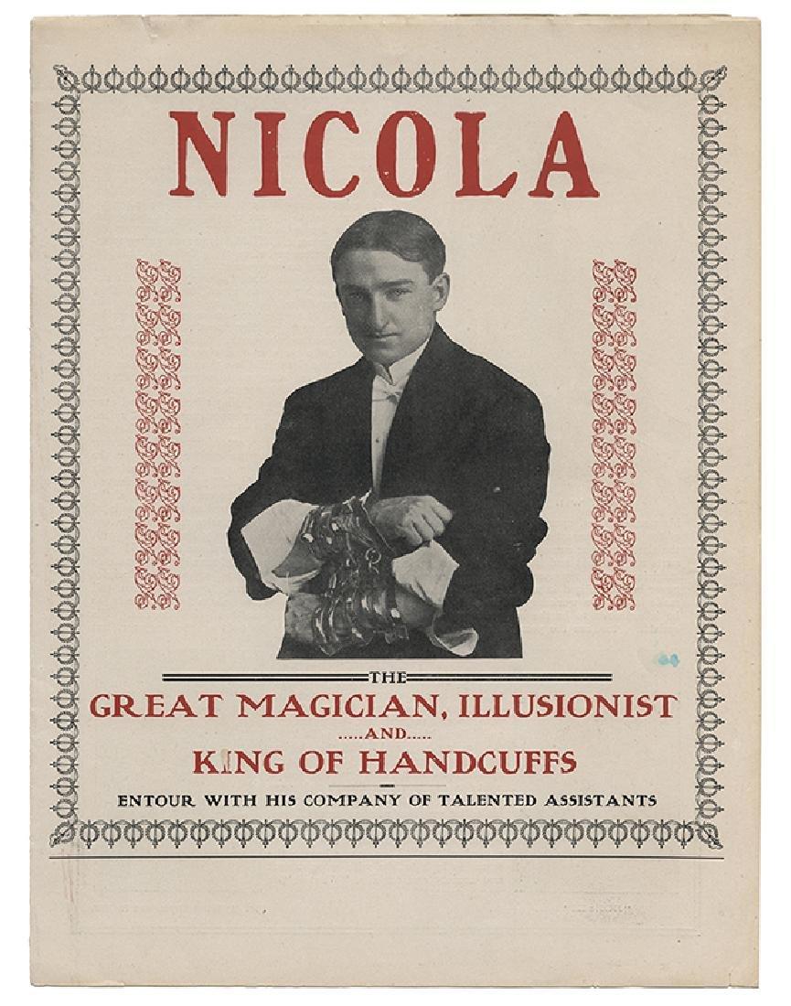 Five Pieces of Nicola Ephemera.