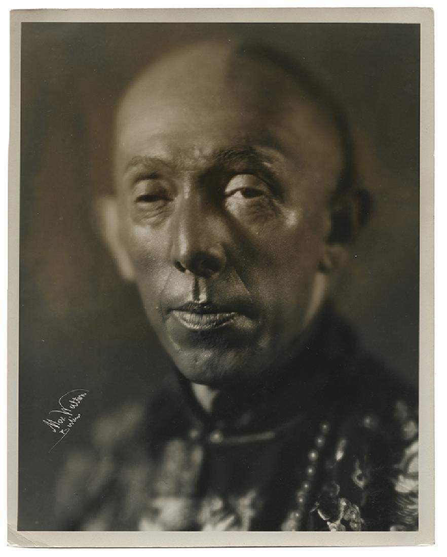 Bust Photograph Portrait of Okito.