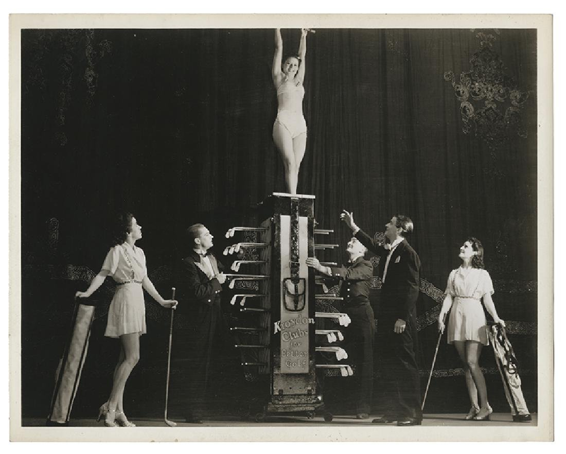 Group of Six Tampa Illusion Photographs, and Publicity