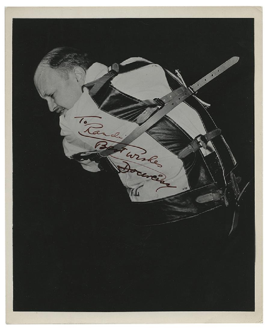 Group of Five Photos Inscribed to James Randi.