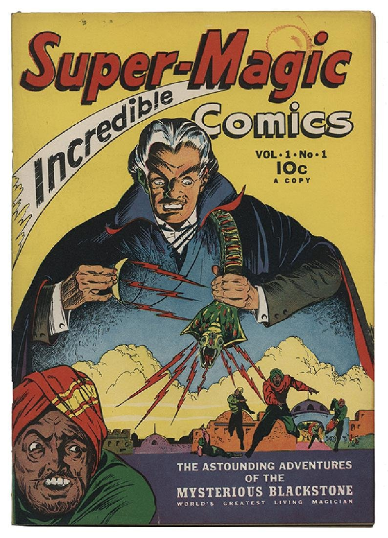 Super Magic Comics V1 N1.