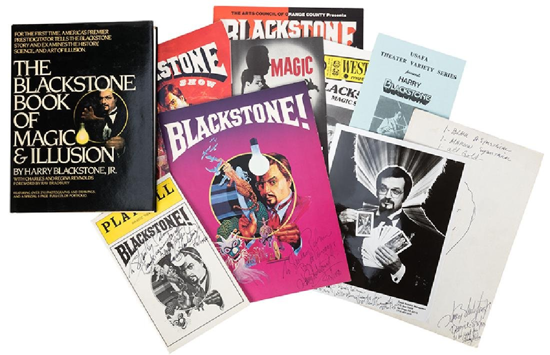The Blackstone Book of Magic & Illusion, Signed, Plus