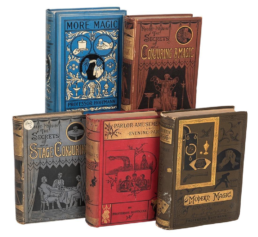 Five Volumes on Magic and Conjuring.