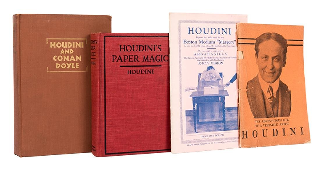Two Books and Two Pamphlets on Houdini.