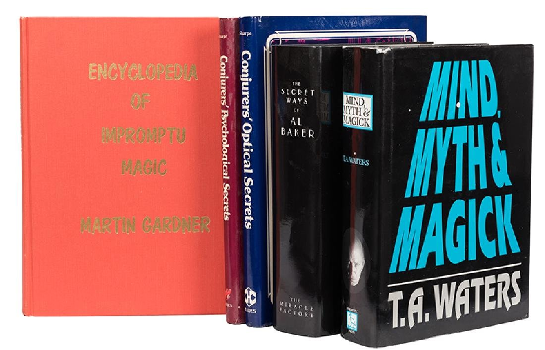 Lot of Five Modern Works on Magic.