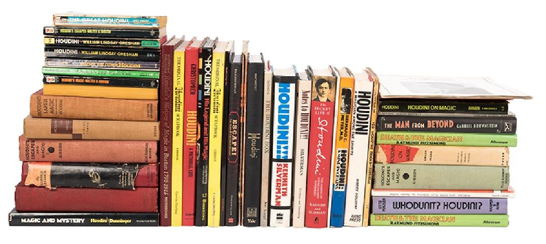 Lot of Over 30 Books About or By Harry Houdini.