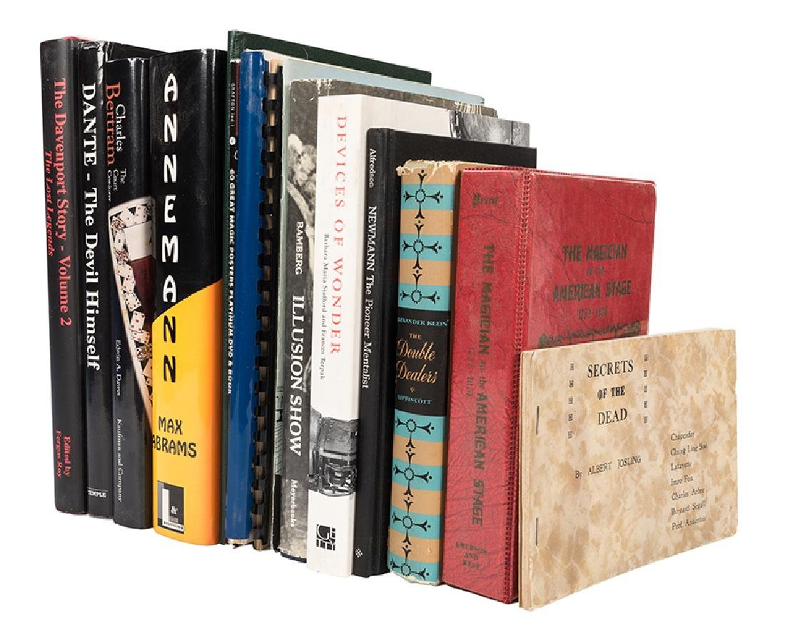 Group of Books 16 Magic Reference Books, Monographs,