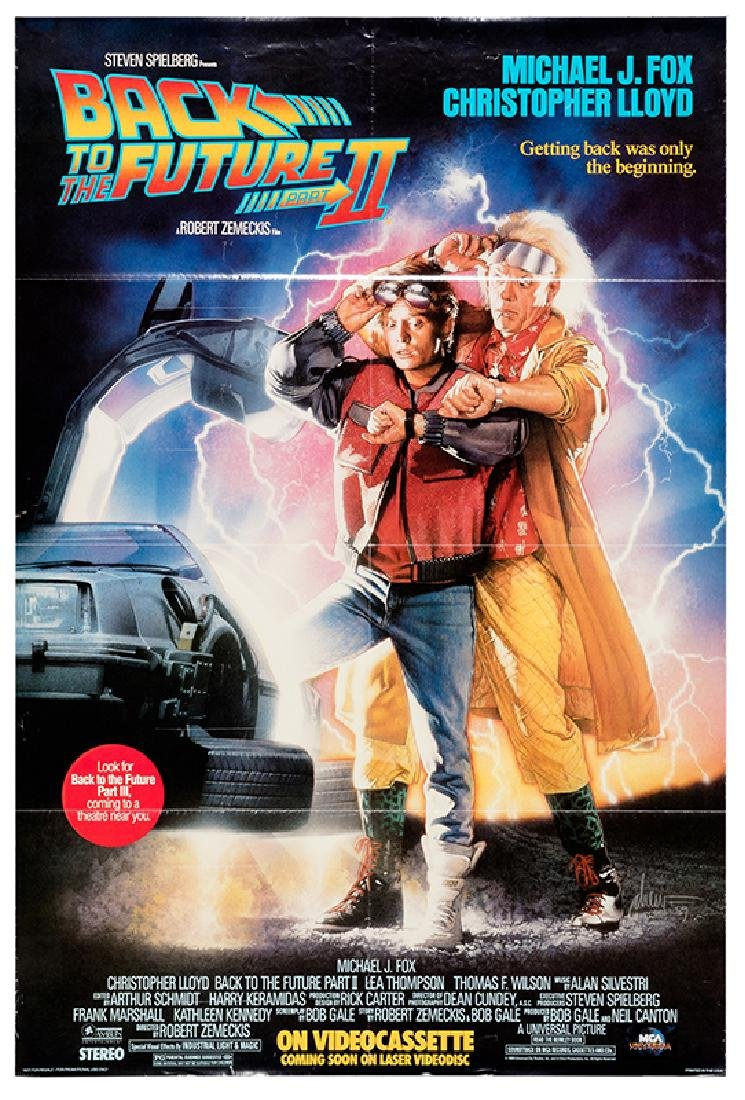Back to the Future Part II.