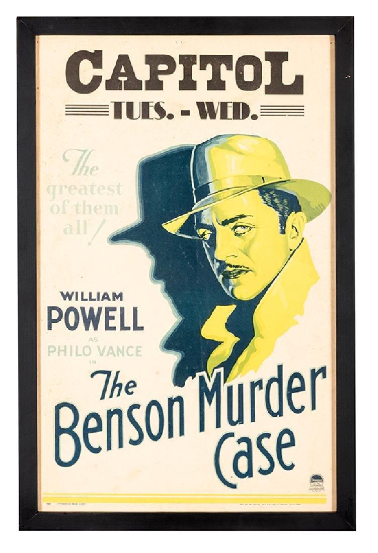 The Benson Murder Case.