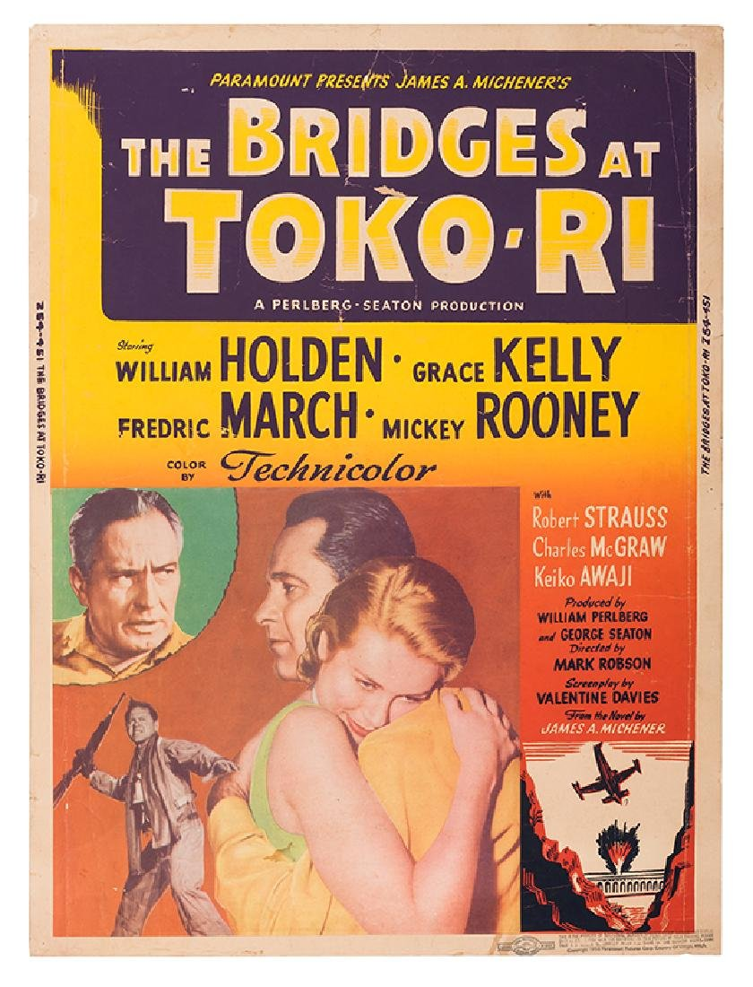 Pair of Posters for The Bridges at Toko-Ri.