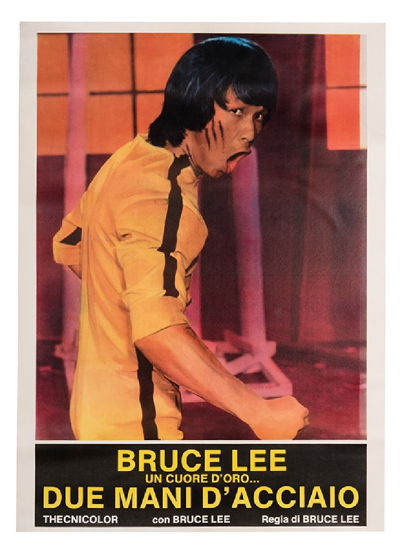 Bruce Lee: A Dragon Story.
