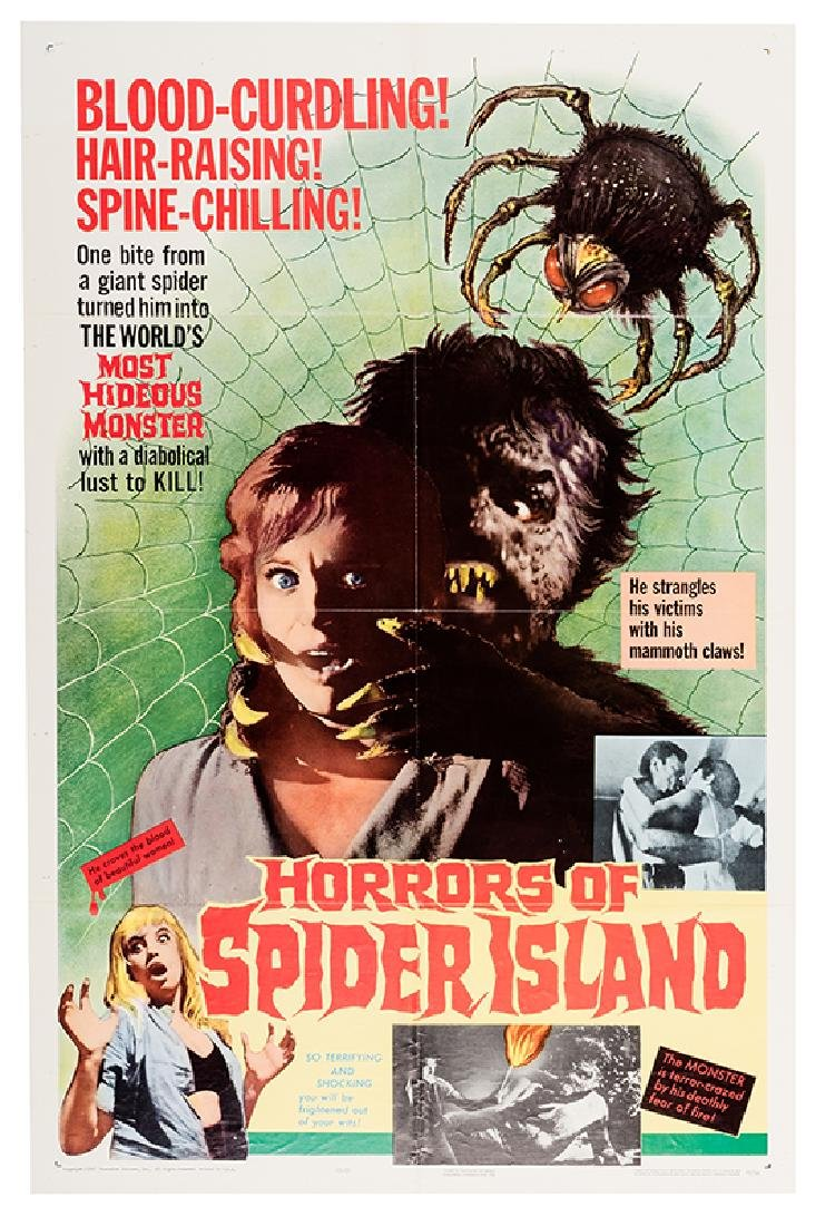 Horrors of Spider Island.
