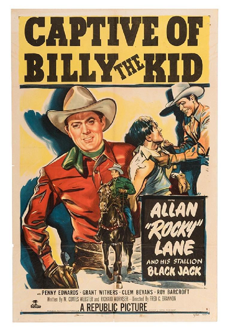 Three Vintage Western Movie Posters.