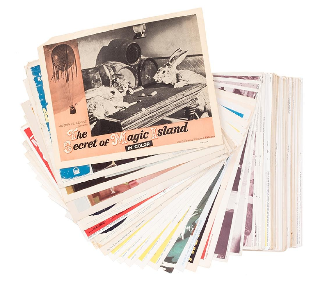Collection of 150 Magic in the movies Lobby Cards.