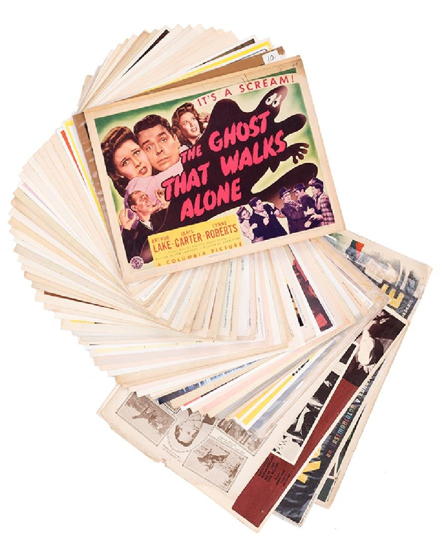 Collection of 70 Magic in the Movies Lobby Cards.