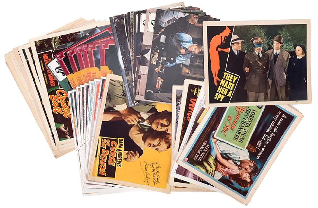 Collection of 80 Magic in the Movies Lobby Cards.