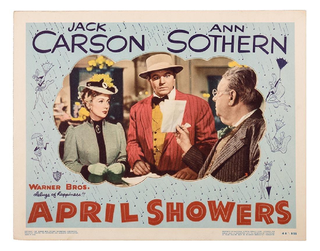 """April Showers"" Lobby Card Set."