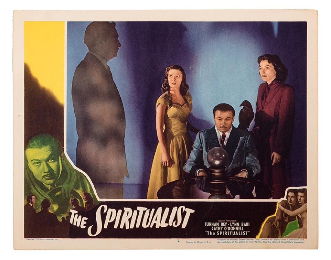 """""""The Spiritualist"""" Lobby Card Group."""
