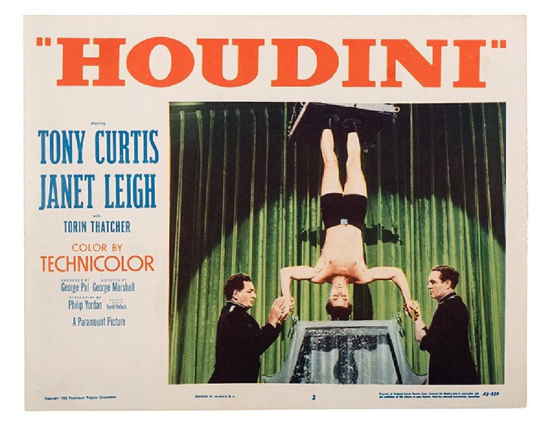 """""""Houdini"""" Lobby Card Group."""