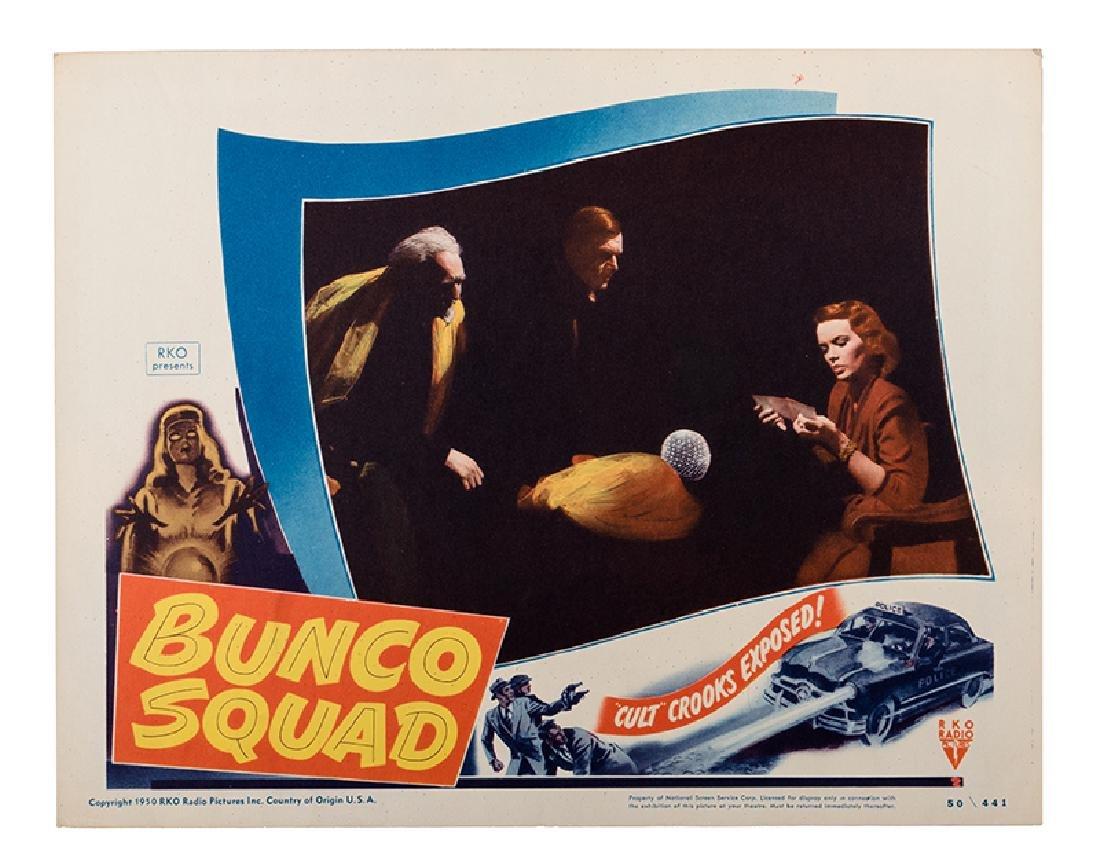 """Bunco Squad"" Lobby Card Set."