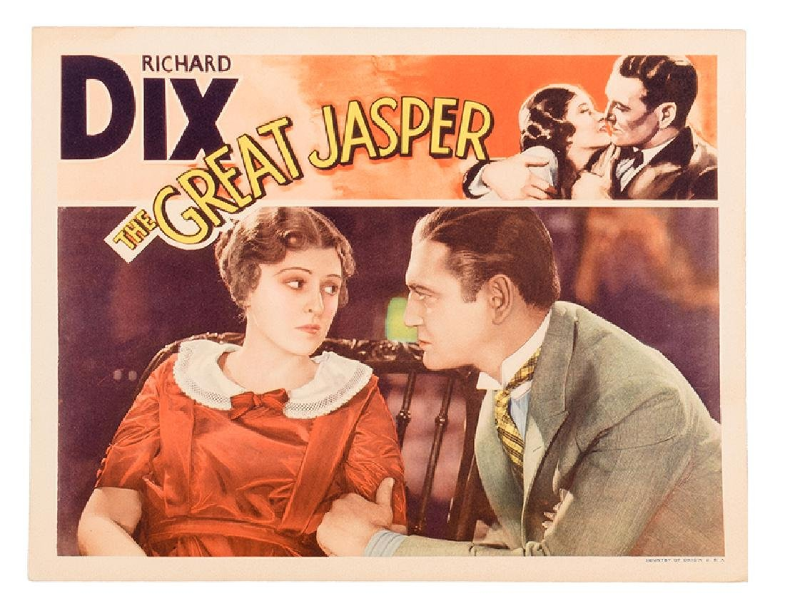 The Great Jasper. Two Lobby Cards.