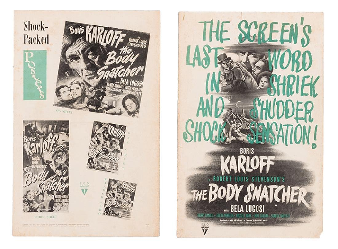 The Body Snatcher Exhibitor Book.