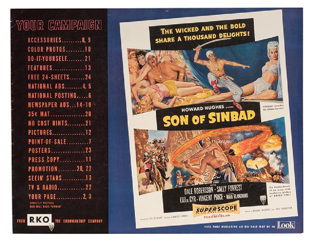 Son of Sinbad Exhibitor Book.
