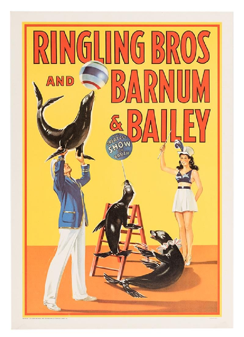 Ringling Bros. and Barnum & Bailey Circus. Trained