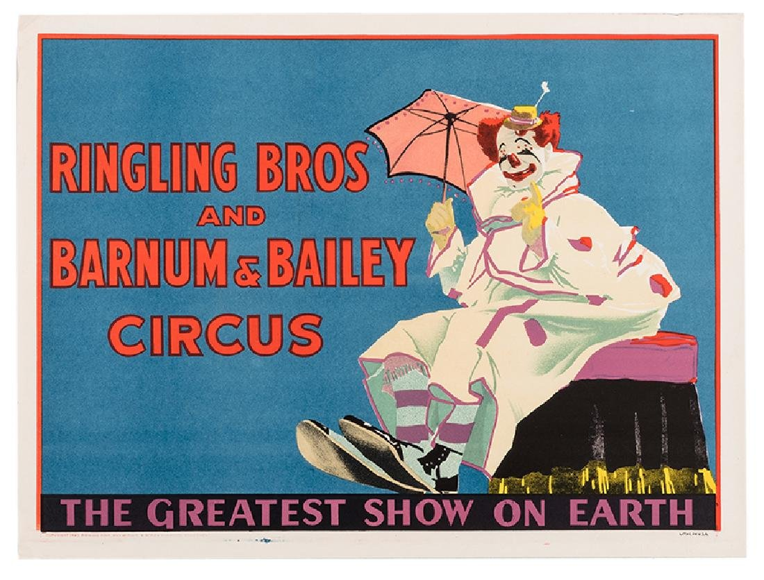 Ringling Bros. and Barnum & Bailey Circus. Felix Adler.