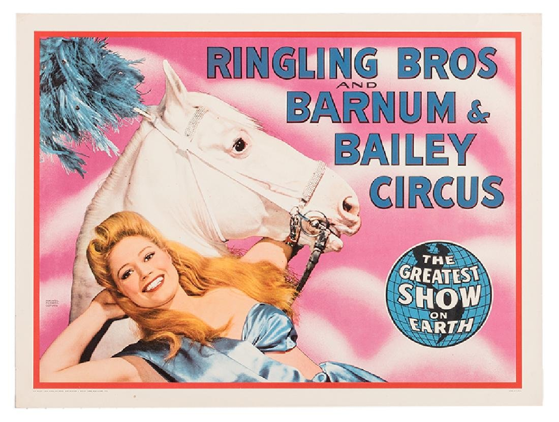 Ringling Bros. and Barnum & Bailey Circus. Horse and