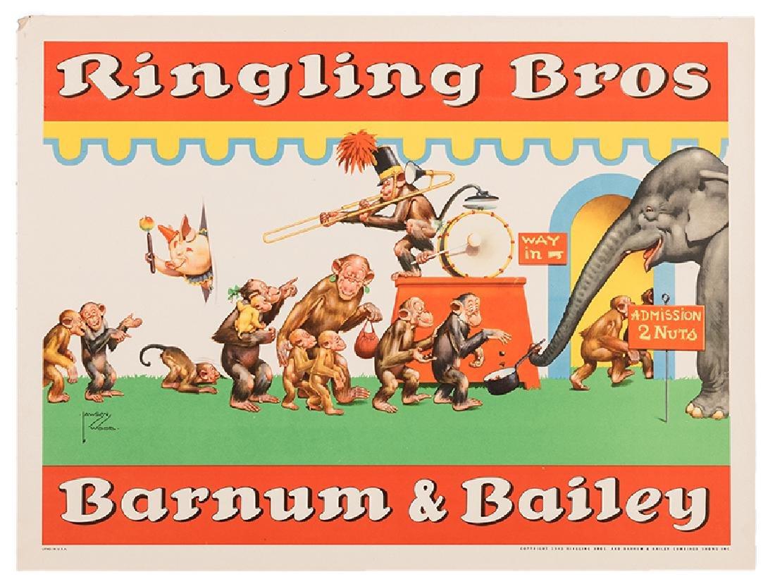 Ringling Bros. and Barnum & Bailey Circus. Animals at